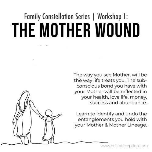 The Mother Wound Workshop - Video Zoom Conference
