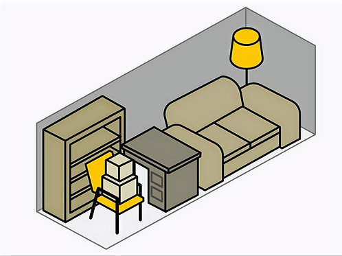 8 x 10 Heated & Dehumidified Storage Unit #1