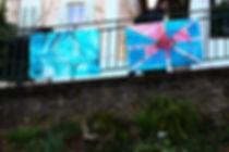 Galerie Urbaine -- Fasto -- installation street art
