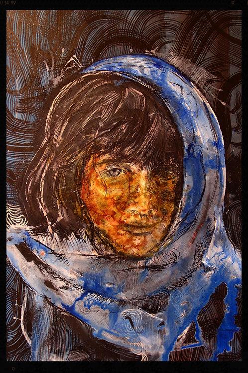 Peinture --Fasto-- Jeune femme