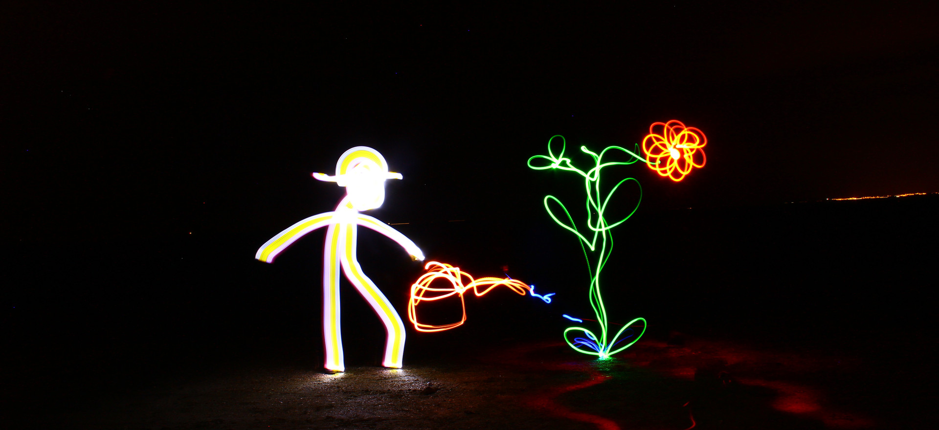Atelier Light Painting avec Fasto