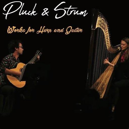 Pluck and Strum, Works for Harp and Guitar