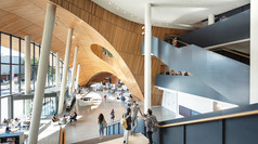 LERA Wins 2020 SEAoNY EiSE Award for Charles Library at Temple University