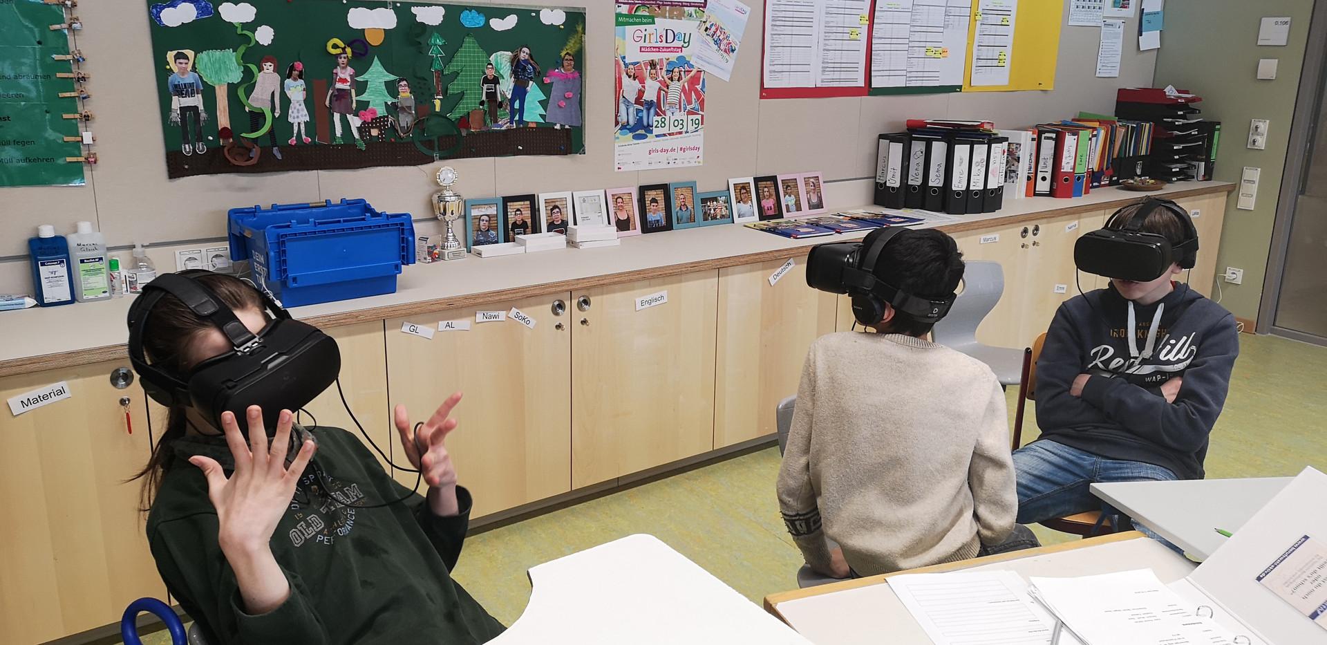 Virtuelle Berufserkundung an der HTS