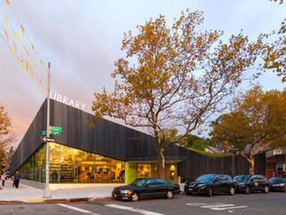 Kew Gardens Hills Library Wins at the AIA-NY Design Awards