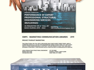 LERA Wins SMPS NY Marketing Communications Excellence Award for Project Pursuits