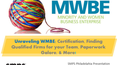 Carrie Villani Presents Unraveling W/MBE: Qualification, Certification, and Teaming