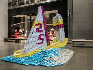 LERA Sails to Victory for CANstruction's 25th Anniversary!
