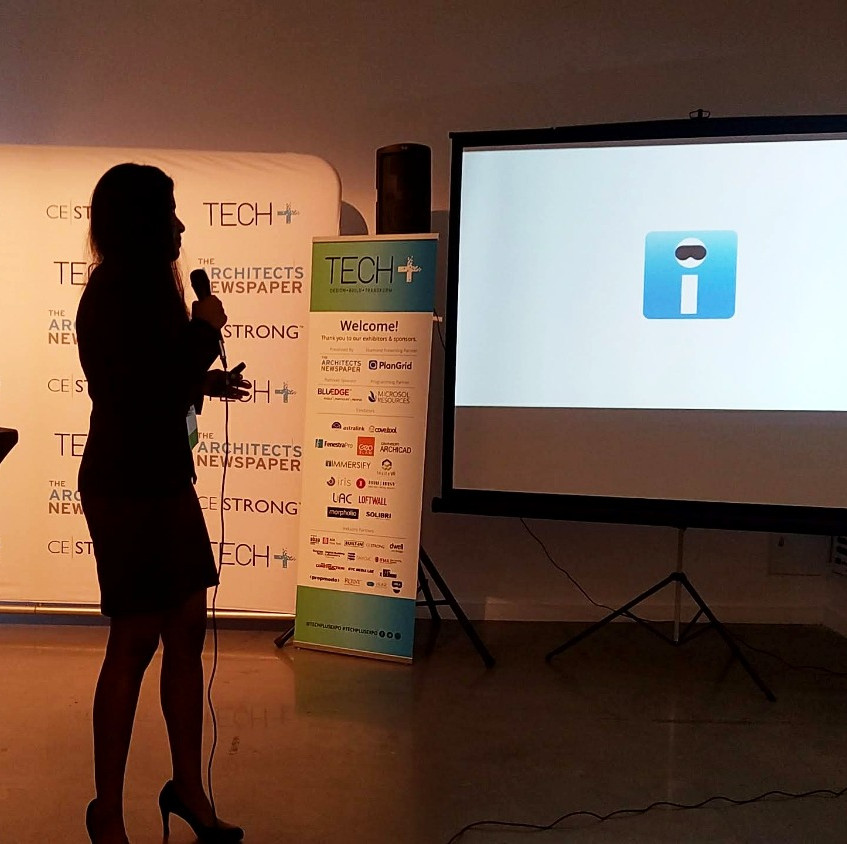Nidhi Sekhar presents at Tech+