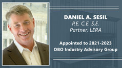 Daniel Sesil Appointed to 2021-2023 OBO Industry Advisory Group