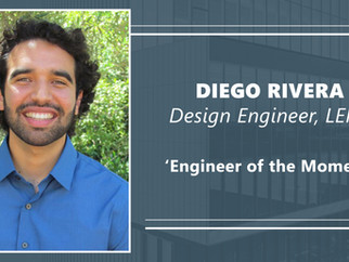 Engineer of the Moment & NYREJ 2021 Ones to Watch, Diego Rivera, LERA Structural Engineers