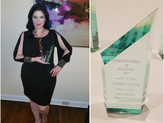 Carrie Villani Honored as Pioneering Women in Real Estate