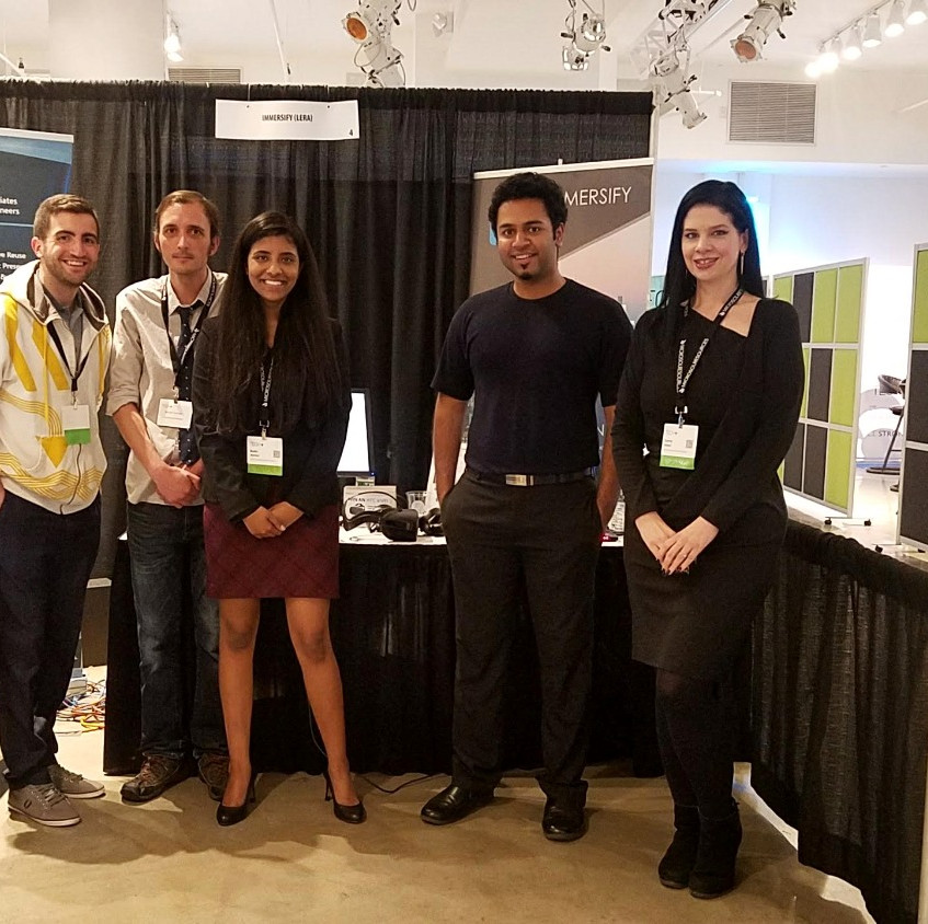 The IMMERSIFY Team at Tech+