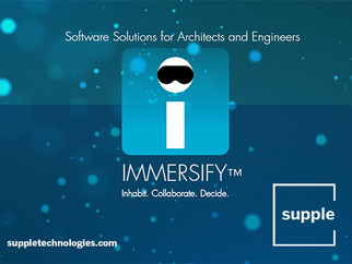 Announcing IMMERSIFY by Supple, Virtual Reality Collaboration Software