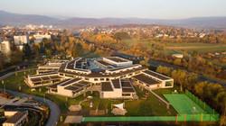Luftbild Hans Thoma Schule