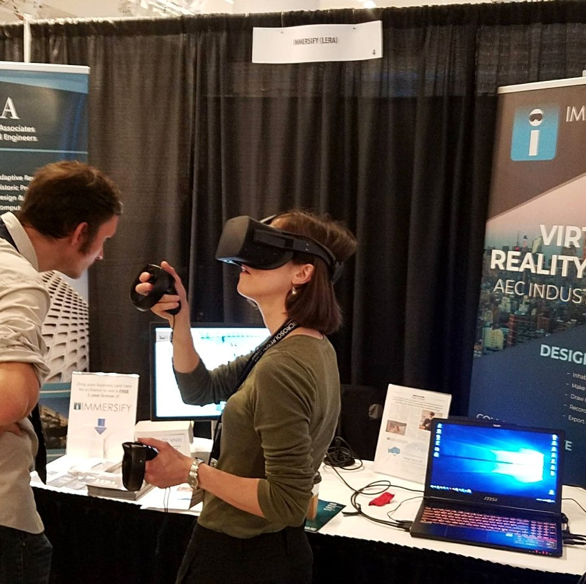 IMMERSIFY Demos at Tech+