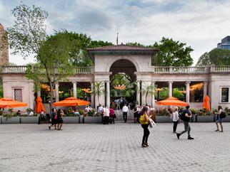 Restored Union Square Pavilion Opens