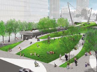 Hudson Park & Boulevard Nears Completion
