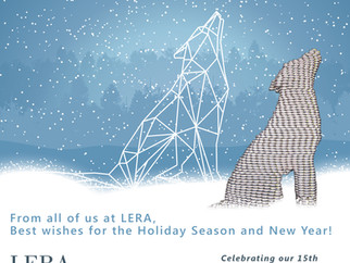 Holiday Wishes from LERA