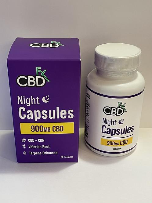 CBD Fx Night Capsules 900mg