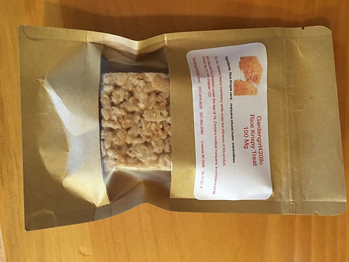Rice  krispy Treat (  BETWEEN 100 -125 Mg )