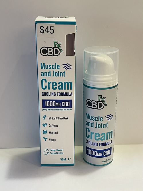 CBD Fx Muscle and Joint Cream