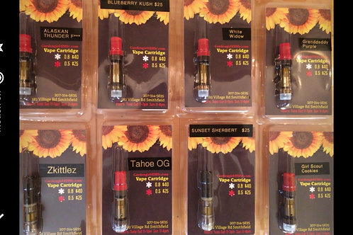 Vape Pen Cartridges 0.05