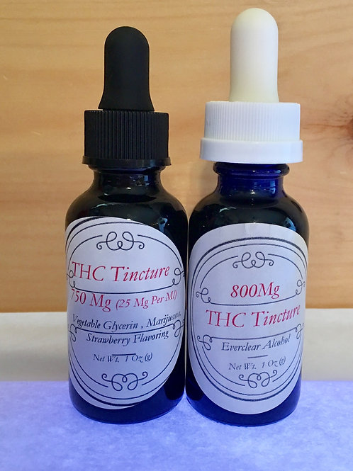 THC Tincture ( Vegtable Glycerin Based ) Strawberry Flavored