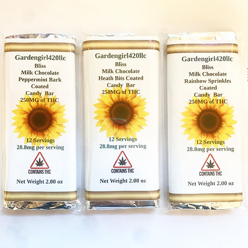 Candy Bars (250 Mg)20.8 mg per Square