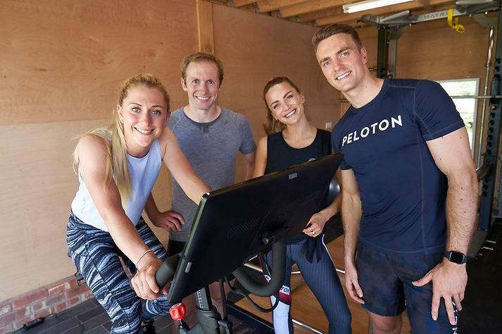 Peloton Ride to Gold Collection - Interview created by Blacklist Creative - Creative Agency and Production Studio.