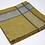 Thumbnail: Serviette Atlas Silver-Mustard