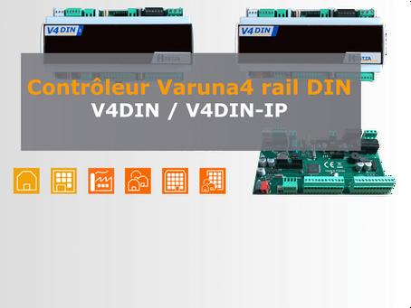 Contrôleurs Varuna4 rail DIN V4DIN-IP et V4DIN