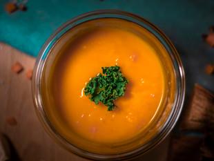 Velouté de carottes et navets