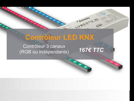Contrôleur éclairage LED KNX