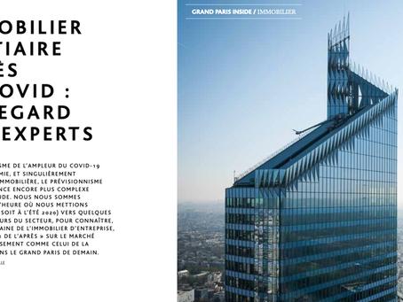 Le Grand Paris de l'immobilier tertiaire après le Covid : le regard  des experts