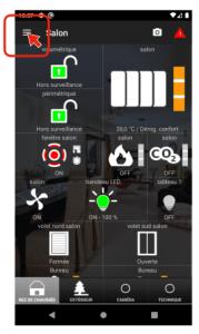 Menu applications Varuna4