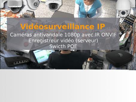 Gamme de vidéosurveillance professionnelle simple et abordable en prix