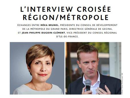 Interview croisée: Région/Métropole