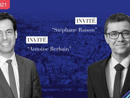 Dîner-débat avec Stéphane Raison et Antoine Berbain