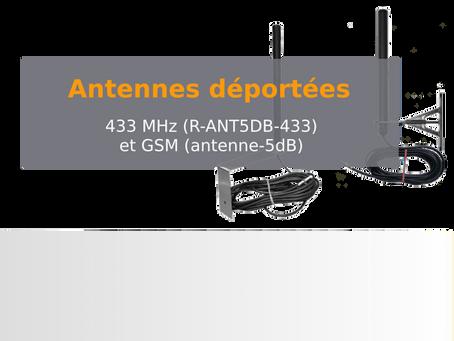 Antennes fort gain 433Mhz et GSM