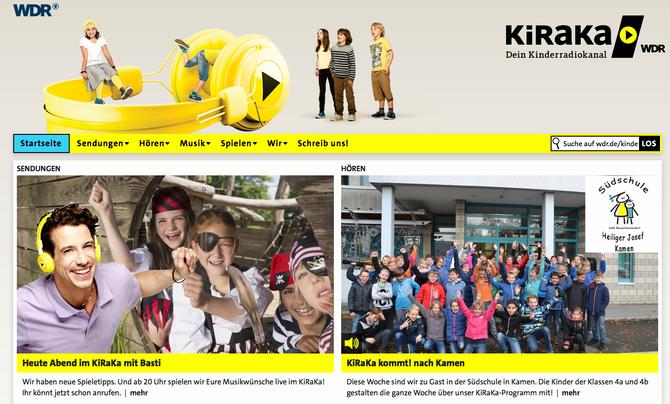 Veröffentlichung: KiRaKa - beim WDR