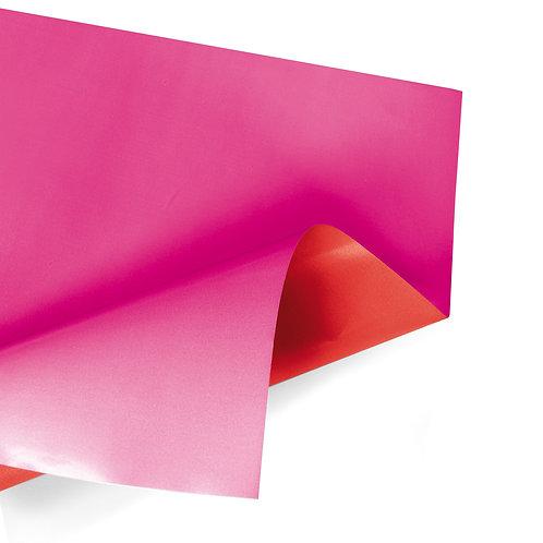 100 Rames Duo Mat 70x70cm fuchsia/rouge 50μ