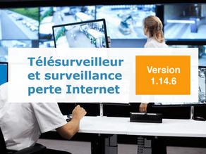 Support télésurveilleur et surveillance perte Internet