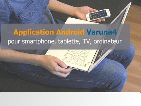 App Varuna4 Android tous terminaux