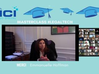 MasterClass de Maître Emmanuelle HOFFMAN sur les LegalTech