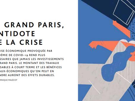 Le Grand Paris, antidote de la crise
