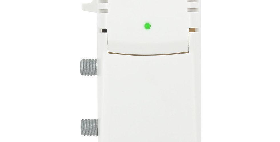 Amplificateur TV intérieur  1 entrée/2 sorties - 21 dB