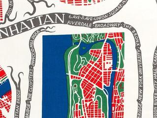 Le dessin représentant une carte stylisée de Manhattan et apposé sur un tissu ne constitue pas une «