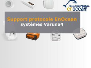 Support protocole radio EnOcean
