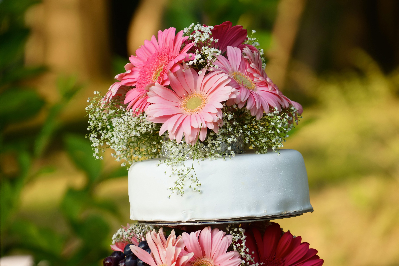 cima di torta nuziale